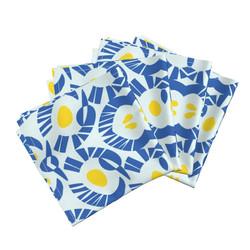 Yellow Blue napkins