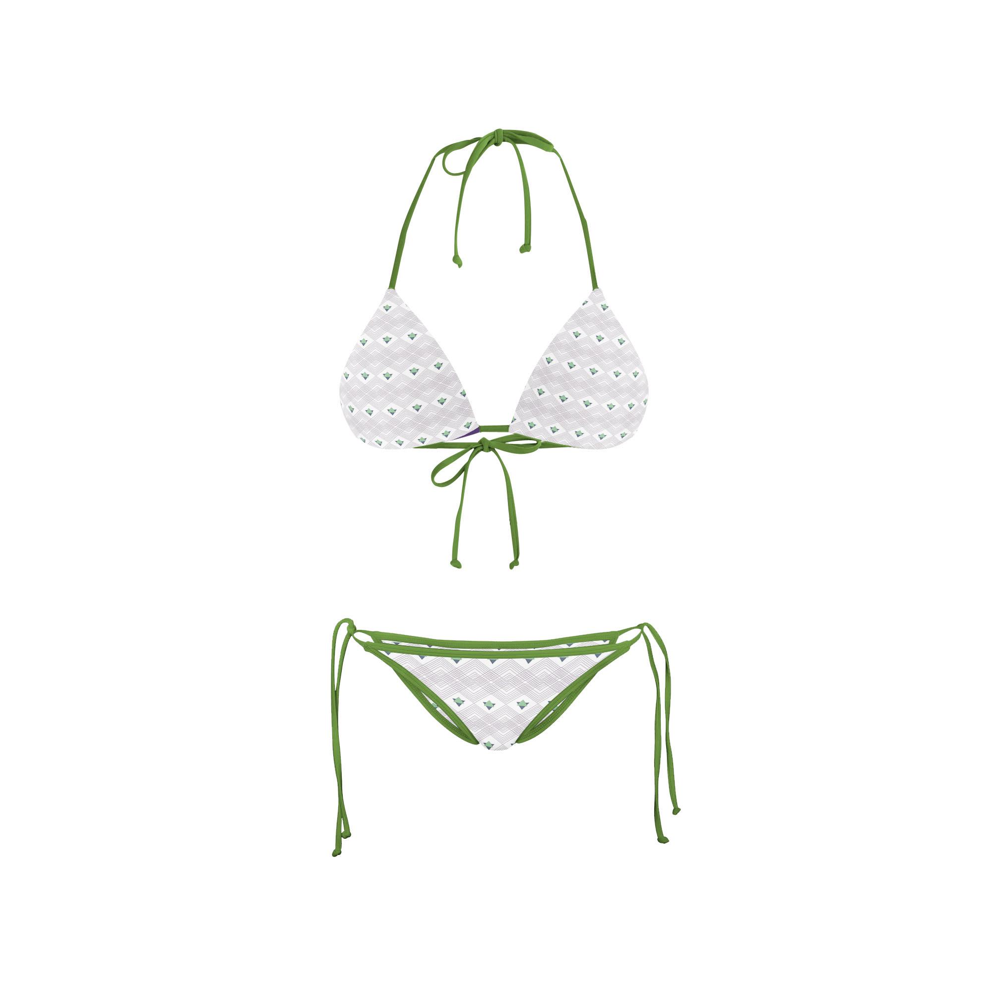 Bikini Front swim triangle