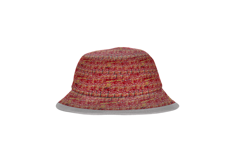 Bucket_Hat_Black red sport