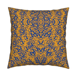 Vintage Purple Pillow