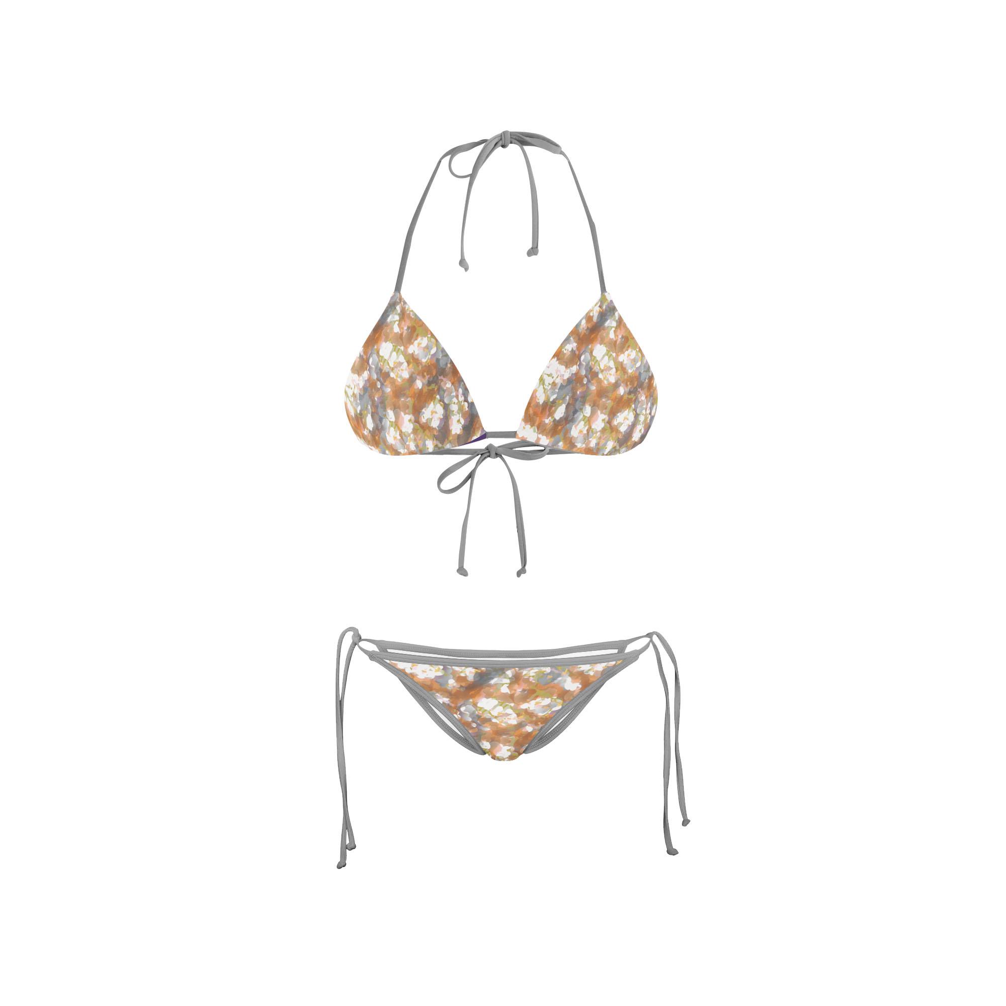 Bikini Front Abstract Copper 2017