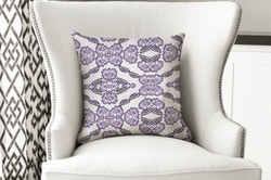 single pillow majestic purple