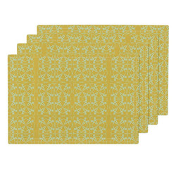 Geometic Wheel Placemats