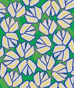 Flower Petals Green