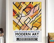 Modern Poster Print