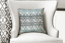 single pillow retro stripes blend