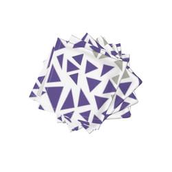 Purple Gray Napkins