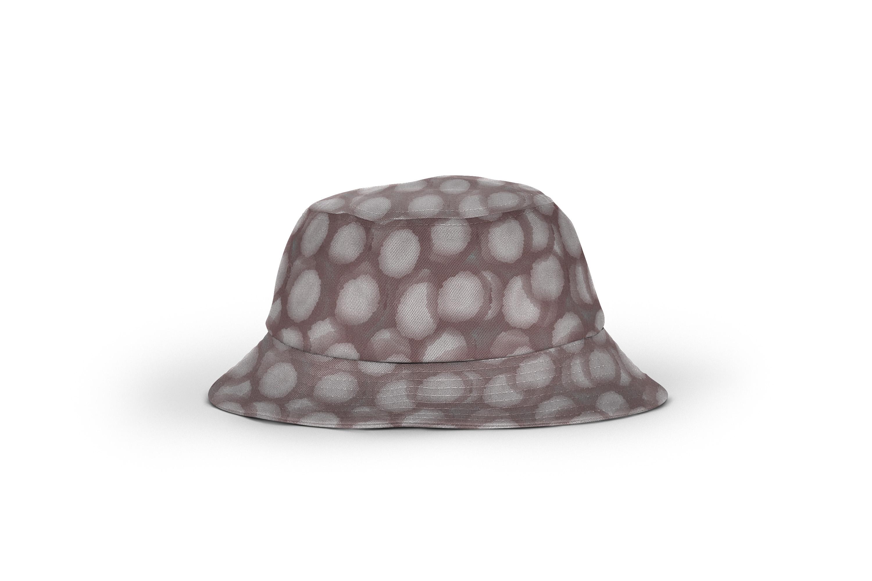 Bucket_Hat_Black paint spot