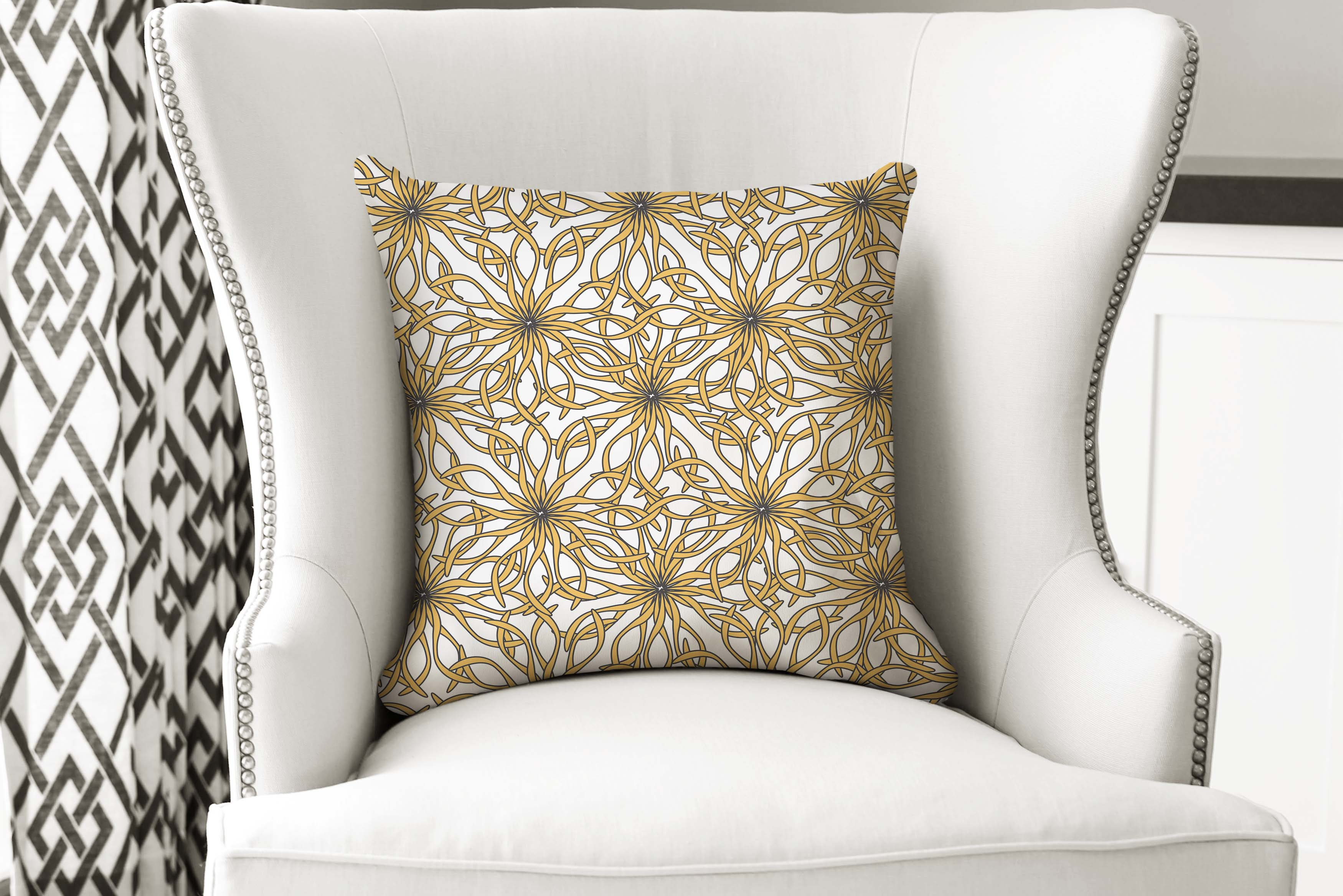 single pillow floral versailes