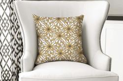 single pillow floral versailes