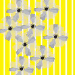 Yellow Stripes Flora