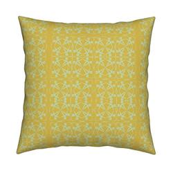 Geometic Wheel Pillow