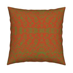 circle green pillow