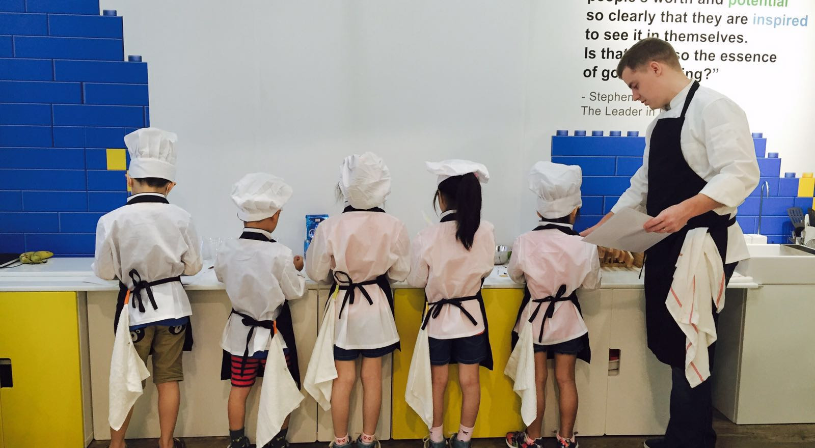 The 7 Habits of Highly Effective Junior Chefs