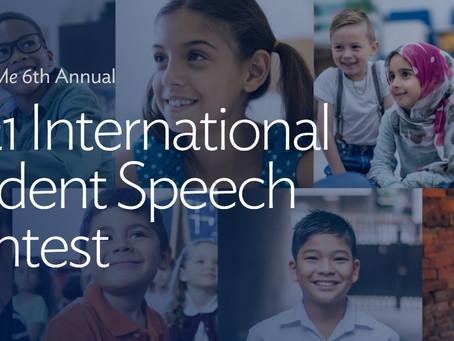 2021 Leader In Me International Student Speech Contest