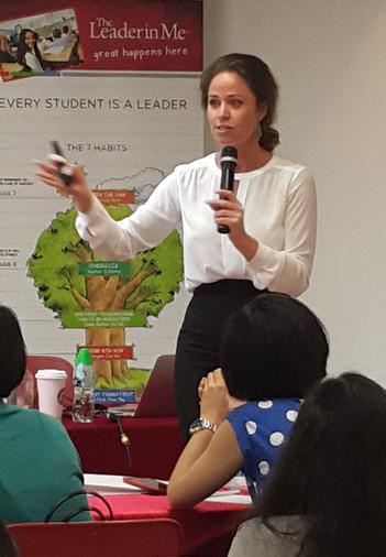 Our speaker Ella