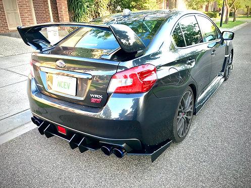 Subaru Impreza WRX - STi 2015-2018 V2 Rear Spats