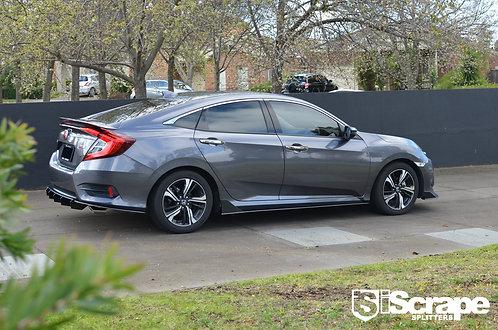 Honda Civic Sedan RS Street Spec Splitter kit