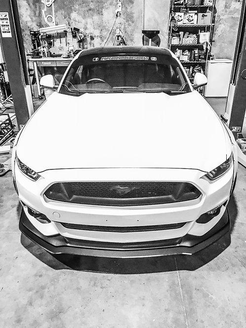 2016-18 Ford Mustang Front Splitter