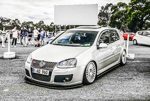 VW Golf MK5 Gti Front Splitter