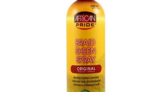 African Pride Original Braid Sheen spray 12oz