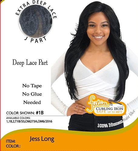 MD Jess Long Human Hair Like