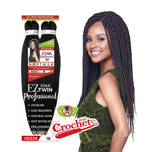 "EZ kima Twin 24"" Braids"