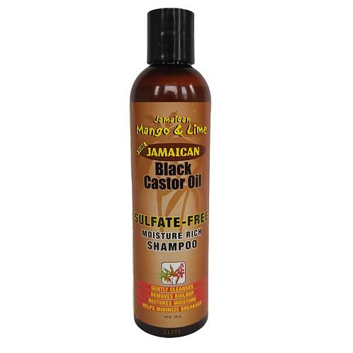 JML Black Castor oil sulfate free 8oz