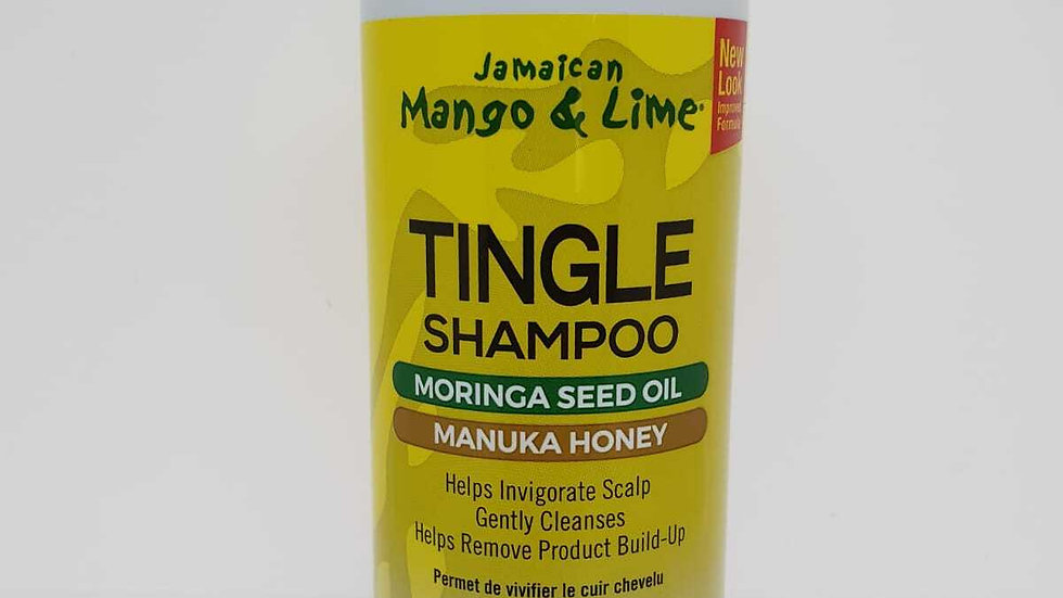 JML Tingle shampoo Moringa sed Manuks honey 16oz