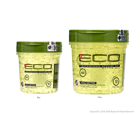 ECO STYLE olive oil Gel Alcohol free