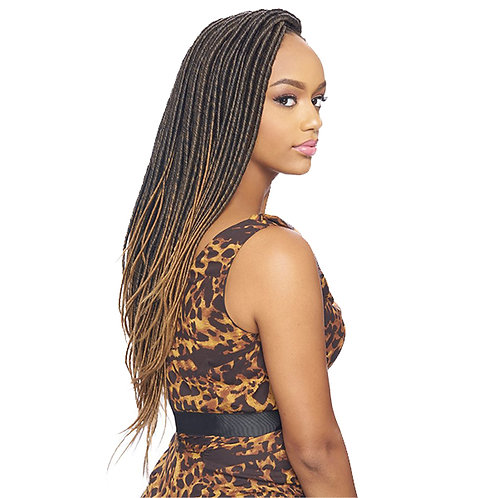 Kima Harlem Feather faux loc 24""