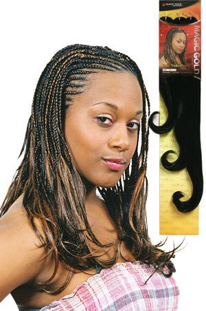 3pc Yaki Pony Magic Gold braids