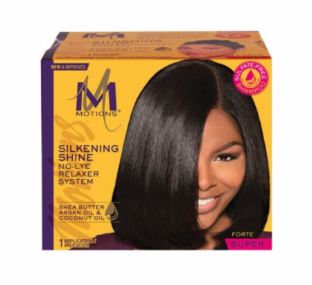 Motions No-Lye Relaxer kit