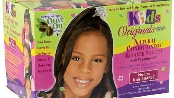 Kids Originals relaxer kit