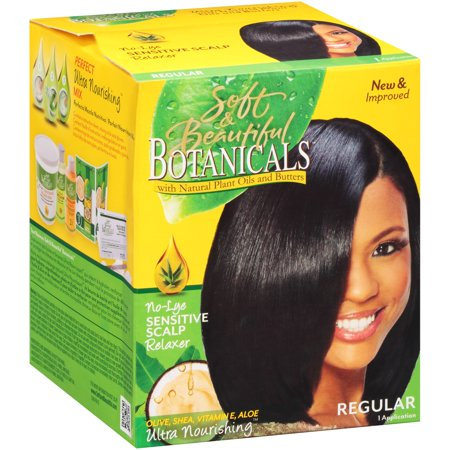 Botanicals No Lye relaxer kit