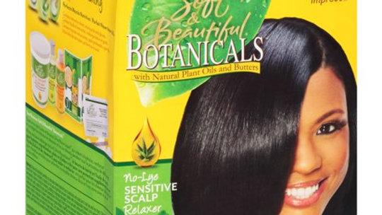 Botanicals No Lye relaxer kit