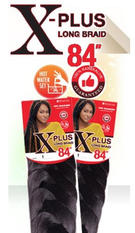 """Sensual X- Plus 84"""" Kanekelon Long Braid"""