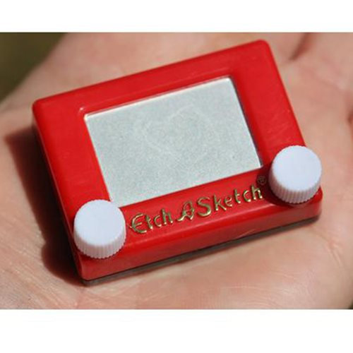 World's Smallest Etch a Sketch Drawing Pad