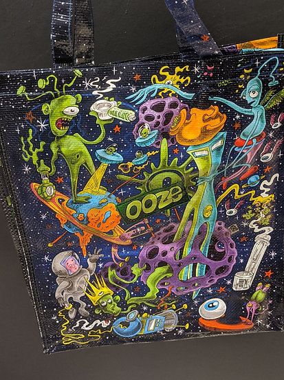Recycled Ooze Bag