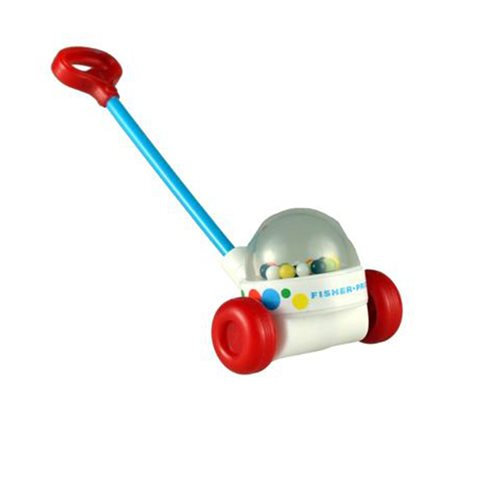 World's Smallest Fisher Price Corn Popper Rattle