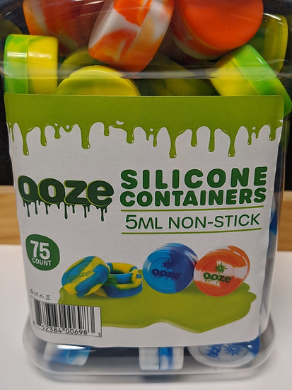 Ooze Silicone Containers