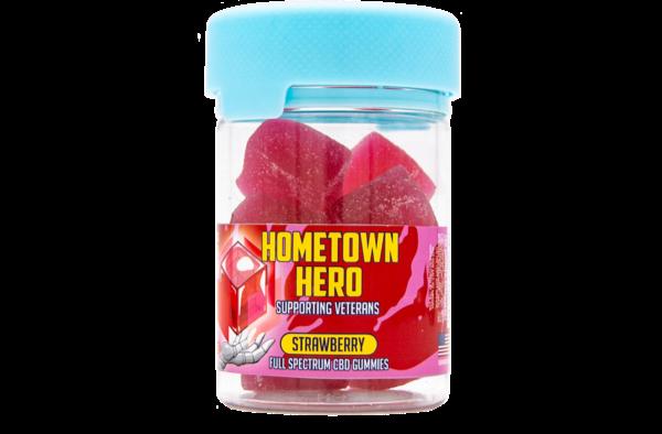25 mg Full Spectrum Strawberry Gummies