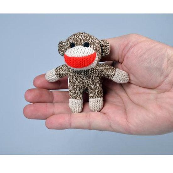 World's Smallest Sock Monkey Plush