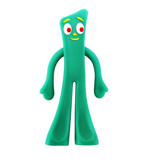 World's Smallest Stretch Gumby Figure