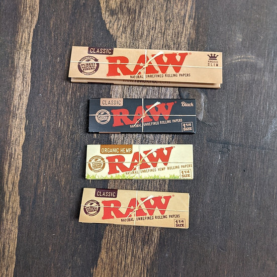 RAW Hemp Rolling Papers