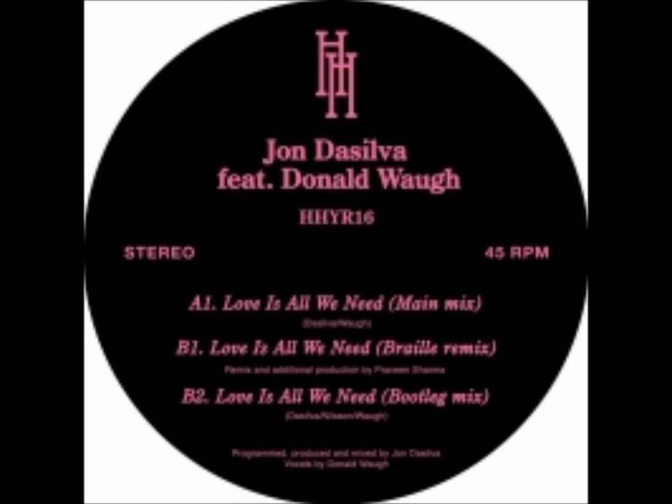 Jon Dasilva - Love is all we need