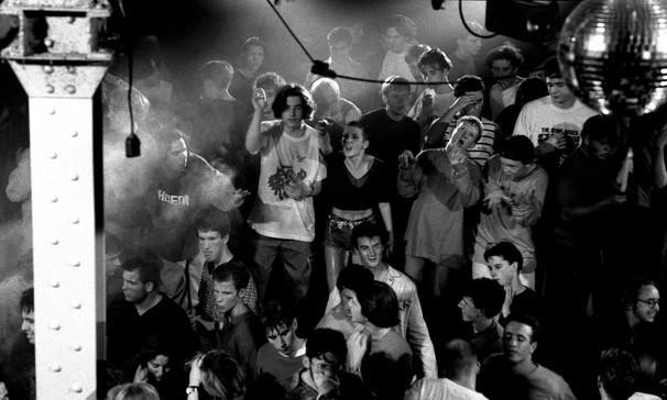 Hot night crowd