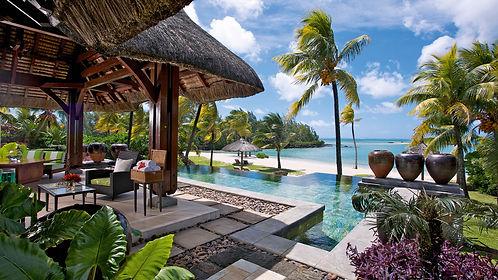 Location Villas pieds dans l'eau Ile Maurice