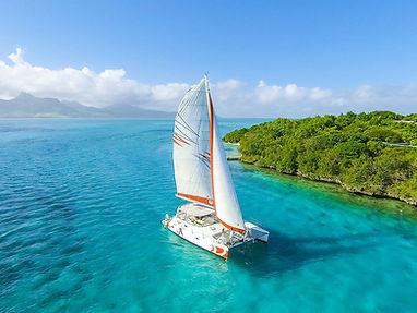 Excursion en catamaran sur la côte Est de Maurice
