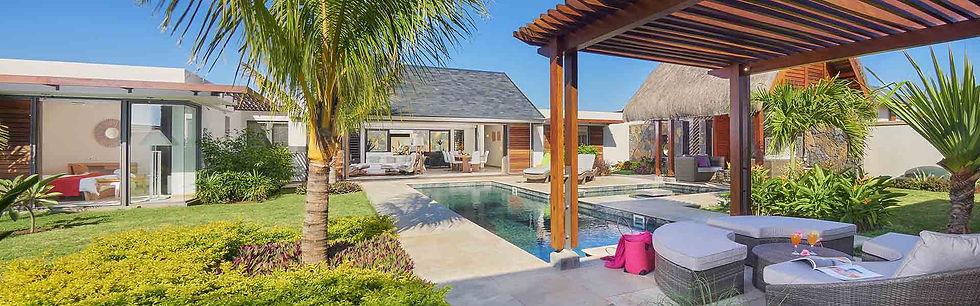 Location Villas CARAVELLE Grand Baie ile Maurice